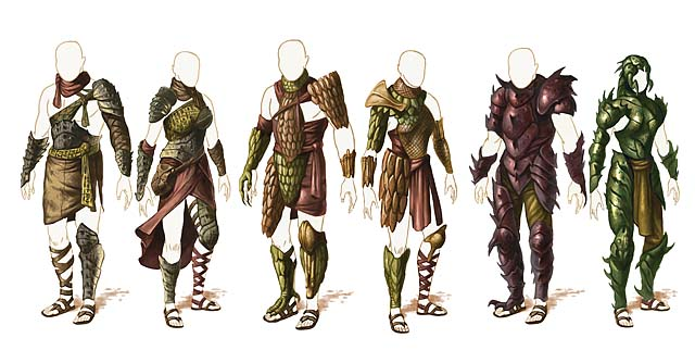 Athasian Armor courtesy of WotC