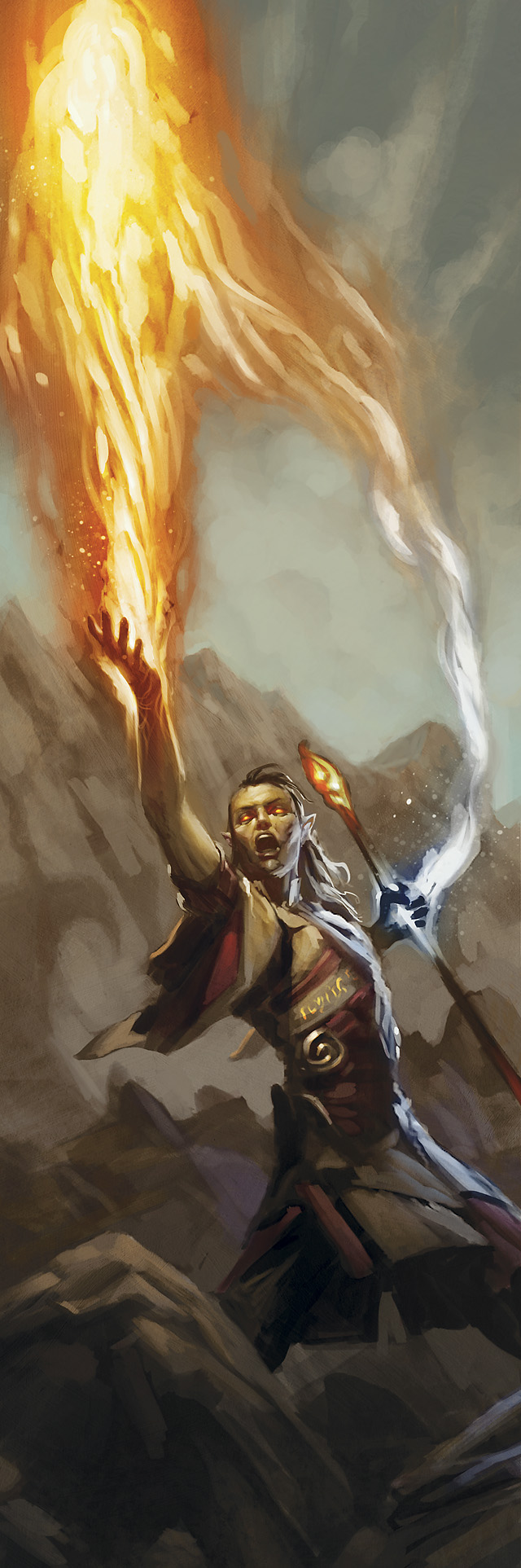 Fire Priest, courtesy of WotC