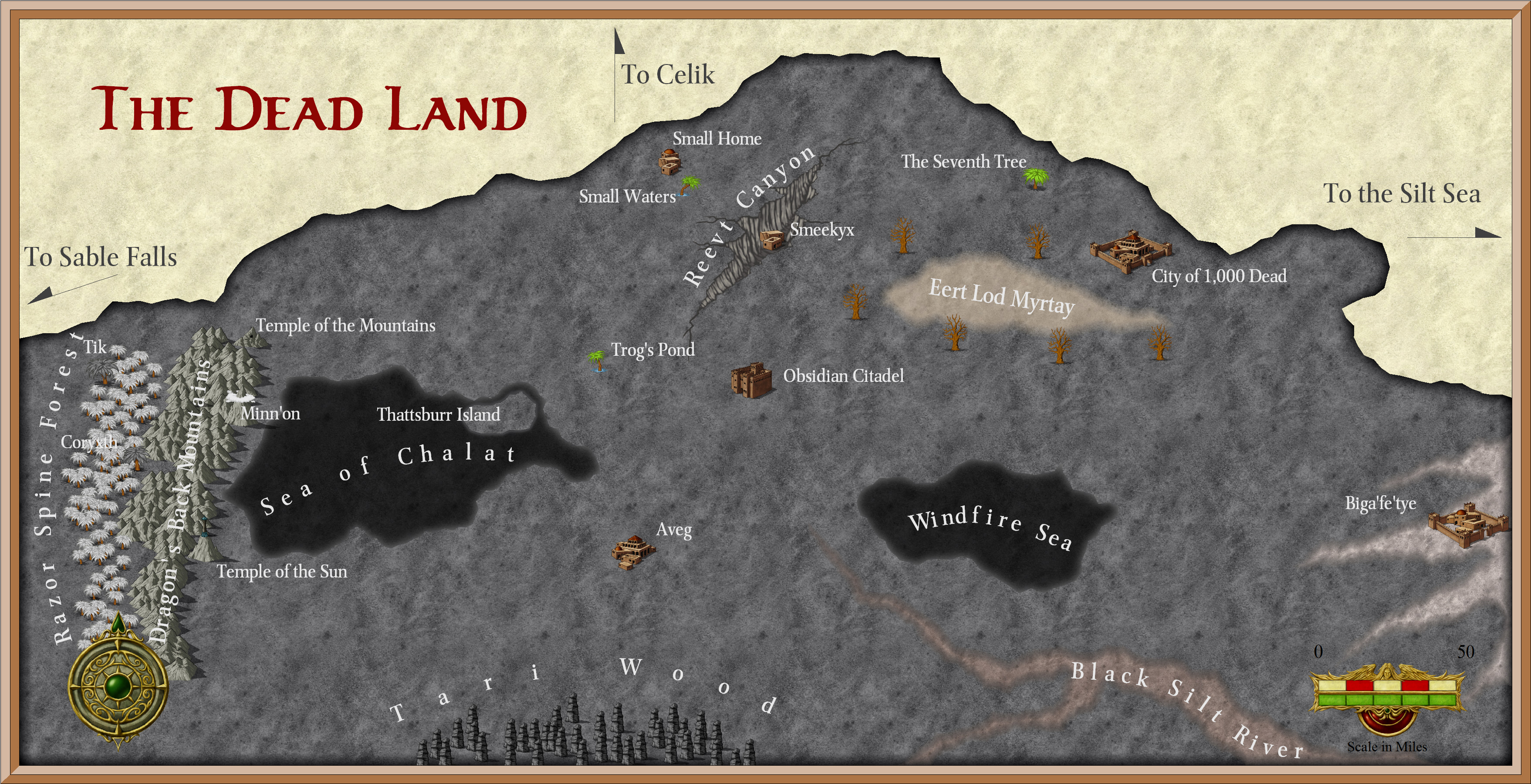Athas World Map.The Burnt World Of Athas Net Project The Dead Land Of Athas 4e